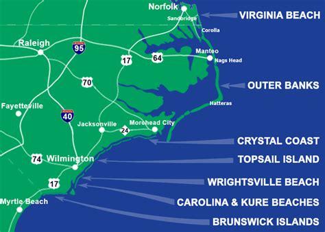 north carolina beaches beach travel destinations