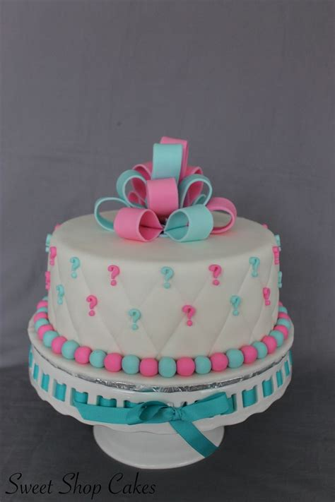 Baby Shower Gender Reveal Ideas by Best 25 Gender Reveal Cakes Ideas On Baby