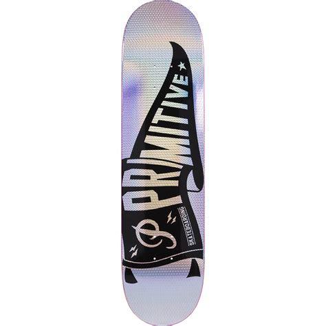 primitive skateboarding pennant prism  skateboard deck