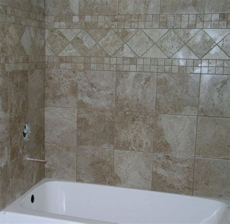 Tile Bathroom Walls Ideas by Bathroom Shower Wall Tile Ideas Peenmedia