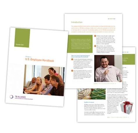 employee handbook layout design communicating employee handbook davis company
