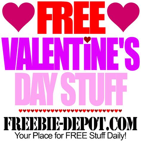 stuff for valentines free valentine s day stuff 2016 free stuff for st