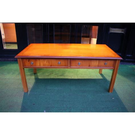 Yew Coffee Table New Chippendale Yew Coffee Table