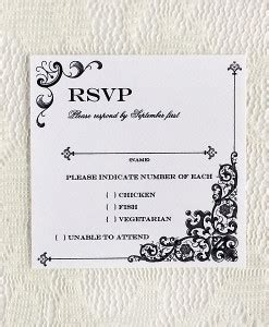 template for rsvp cards dinner rsvp cards print