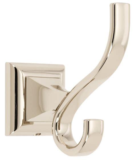 polished nickel bathroom accessories bathfashion offers alno aln 110546 bath home hook