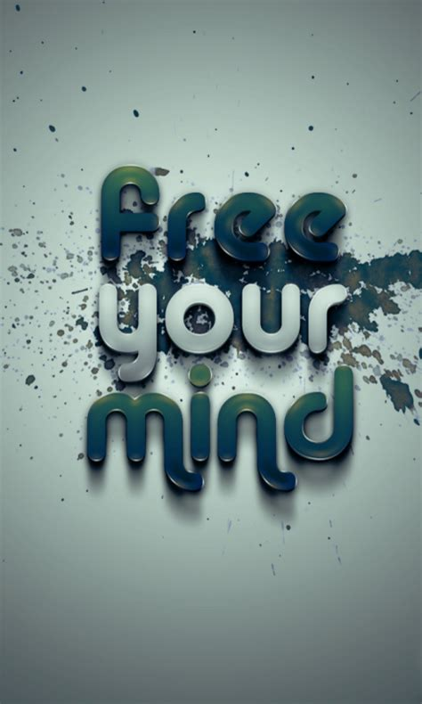 wallpaper free your mind free your mind nokia mobile wallpapers 480x800 hd