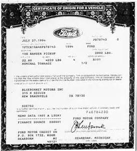 certificate of origin for a vehicle template 12 manufacturer statement of origin invoice exle 2017