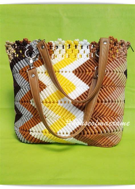 tutorial tas rajut tribal about macrame new design new pattern macrame bag quot tribal