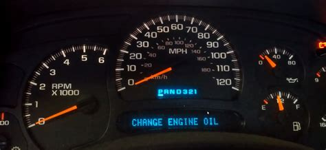 change oil light came on how long do i have chevrolet silverado 1500 1999 present how to reset change