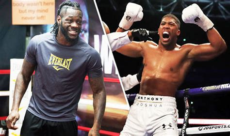 Anthony Joshua next fight: Deontay Wilder FURIOUS after