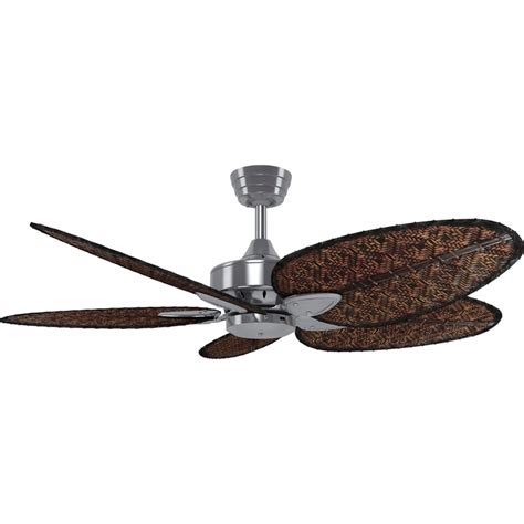 ceiling fan model 52 ant crestwind 52 inch brushed nickel bamboo ceiling fan ant
