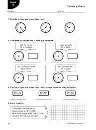 ejercicios tiempo y dinero de 4 de primaria santillana resultado de imagen para ficha de mates tema 7 4 186 primaria