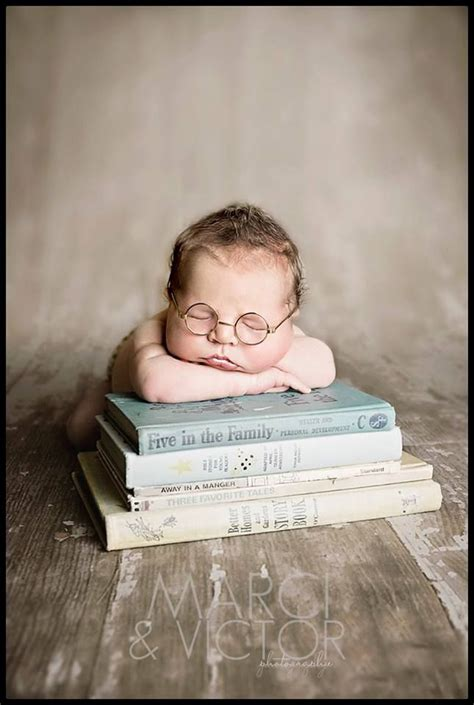 themes for baby photoshoots newborn pose photography idea books glasses boy marci