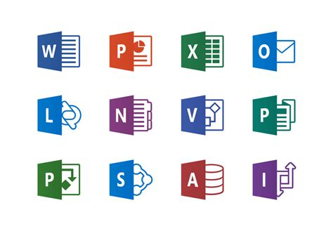 Microsoft Office Icon by Microsoft Office Product Icons Pablo Rochat