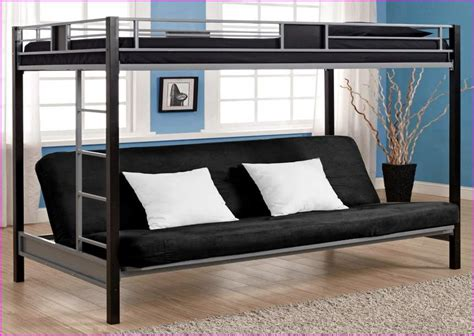 bunk bed with on bottom size bunk bed with futon on bottom home design ideas