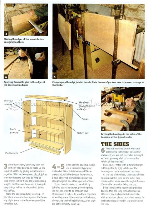 small bookcase plans woodarchivist