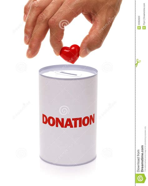 letter box charity donation box and stock image cartoondealer