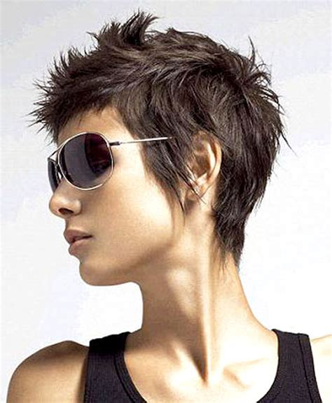 wash and wear pixie very short hairstyles spiky short haircuts for women give