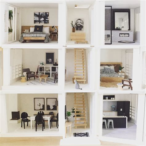 malibu doll house modern dollhouse by the dollhouse emporium malibu dollhouse kit 1 12 scale miniatures