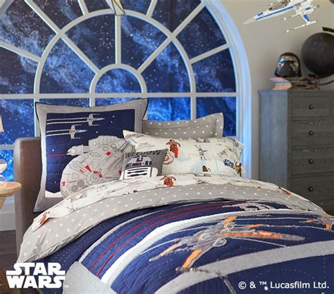 Wars Quilt by Wars The Last Jedi Quilt Pottery Barn