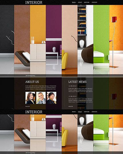 images  colorful website designs  pinterest