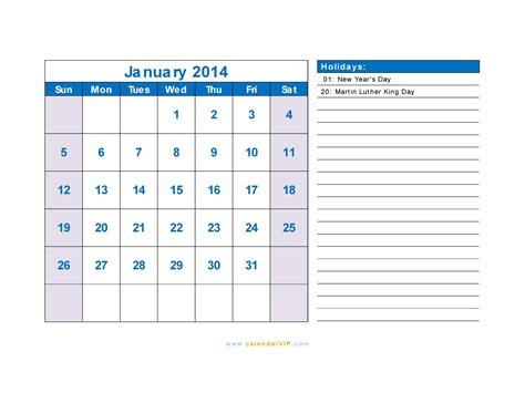 january 2014 printable calendar portrait www imgkid com