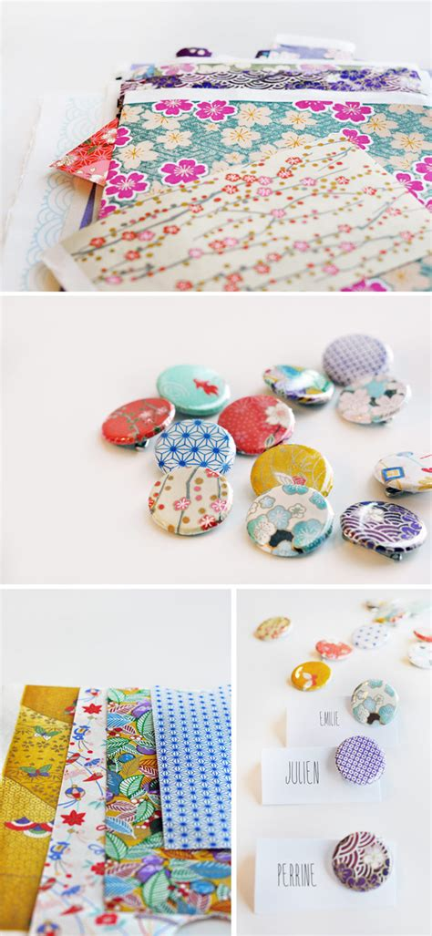How To Make A Badge Out Of Paper - unique wedding ideas japanese influenced wedding style