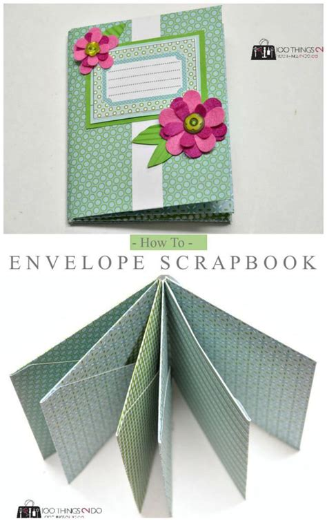 How To Make An Envelope From Scrapbook Paper - the 25 best envelope scrapbook ideas on mini