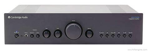 Cambridge Audio Azur 640a Manual Stereo Integrated