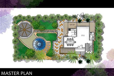 villa landscape layout villas landscapes and behance on pinterest