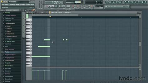 tutorial fl studio piano roll using the piano roll