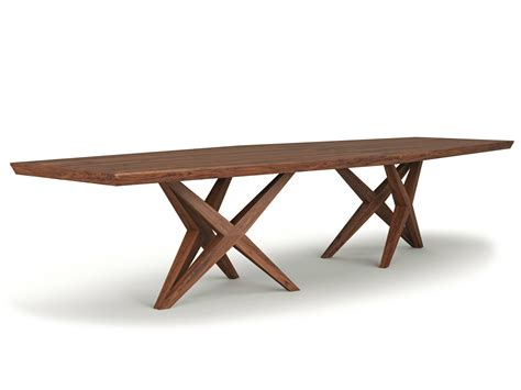 solid wood table rectangular solid wood table vitox by belfakto
