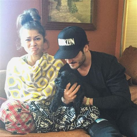 zendaya and val 2015 zendaya val and her new puppy 2015 the brother s
