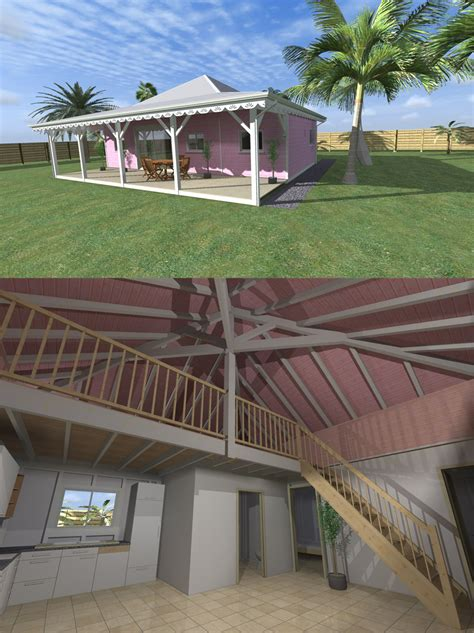 Maison En Bois Sans Permis De Construire 4010 by Modulotech La Construction Modulaire Bois Aux Antilles