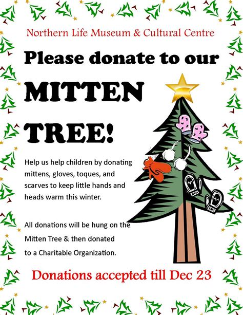 northern life museum cultural centre news mitten tree