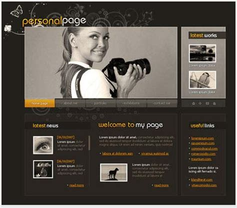 design html page using photoshop most excellent photoshop web layout design tutorials