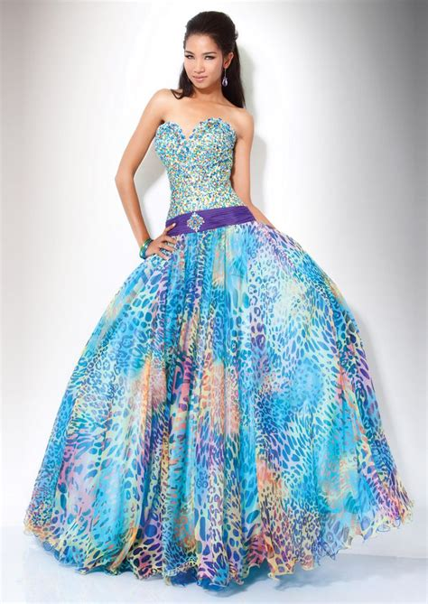 colorful prom dresses 74 best images about prom dresses on colorful