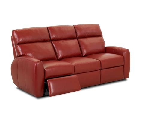 american made best leather recliner sofa ventana clp114