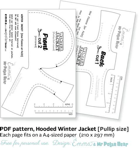 jacket pattern making pdf emma mr polar bear