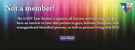 state bar of texas sections lgbt law section of the state bar of texas lgbt law texas