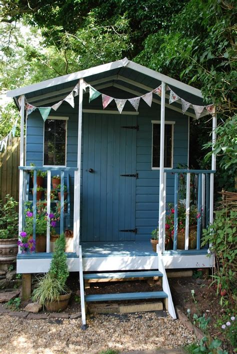 Painted Garden Sheds by 1210 Best She Sheds Images On