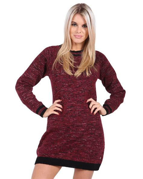 Wst 15834 Bow Sleeve Knit Sweater knitted sleeve crew neck jumper soft