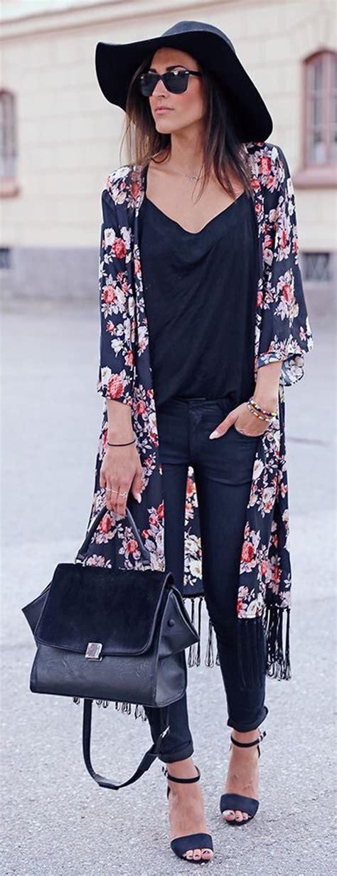 Dg Bring Sexyback For Fall by 20 Looks Con Kimonos Que Te Dar 225 N Una Idea De Como Usarlos