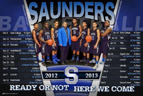 uk basketball schedule poster saunders 2012 2013 boys basketball schedule custom