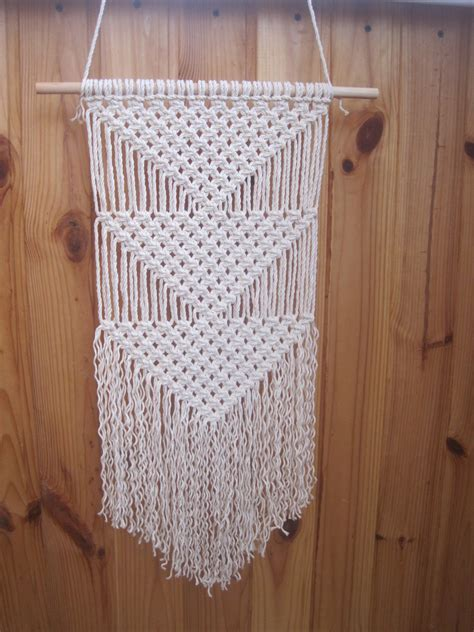 Simple Macrame - macrame wall hanging simple macrame wall wall decor