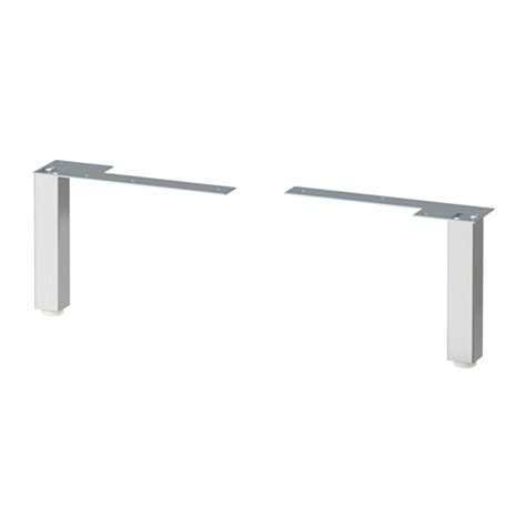 stainless steel cabinet legs imanisr lill 197 ngen leg stainless steel 16 17 cm ikea