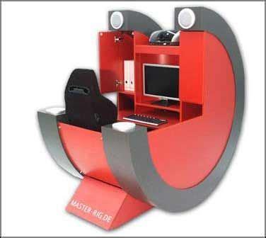 Portable Gaming Desk Best 25 Cool Computer Desks Ideas On Pinterest Pc Built Into Desk Gaming Desk Built In Pc