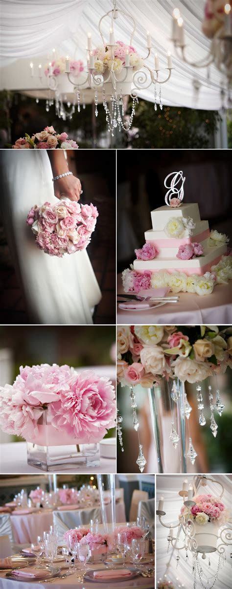 Shades of Pink Wedding Color Inspiration   Rustic Wedding Chic