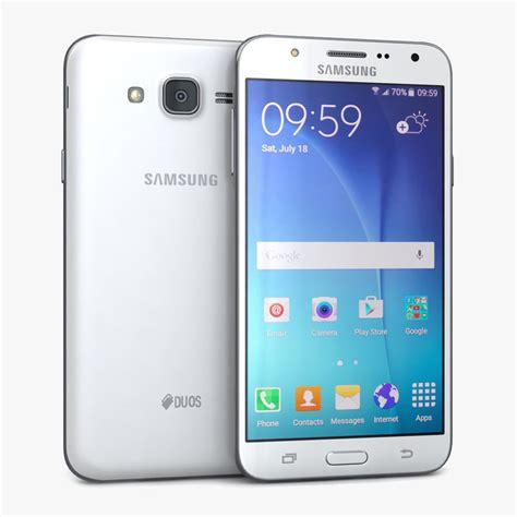 Samsung J7 White Samsung Galaxy J7 White 3d Model