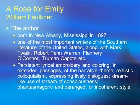 a rose for emily analysis essay essay on a rose for emily a rose for